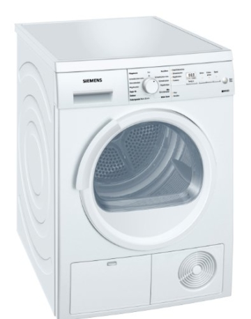 Siemens iQ500 WT46E305 iSensoric Kondenstrockner / B / 7 kg / weiß / softDry-Trommelsystem / duoTronic / Super40 -