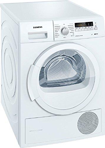 Siemens iQ700 WT46W261 iSensoric Wärmepumpentrockner / A++ / 8 kg / weiß / Selbstreinigender Kondensator / softDry-Trommelsystem / Super40 -
