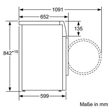 Siemens iQ700 WT46W2FCB iSensoric Wärmepumpentrockner / A++ / 7 kg / Selbstreinigender Kondensator / softDry-Trommelsystem / Knitterschutz -