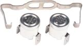 Thermostate / Thermostat-Kit für Bauknecht & Whirlpool Trockner, Kondenstrockner - Teile-Nr. 481225928681 -