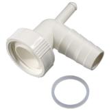 Xavax Dualer Siphonanschluss zum Anschluss von Kondenstrockner und Waschmaschine am Siphon -
