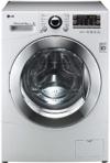 LG F14A8RD Waschtrockner / AA / Waschen: 9 kg / Trocknen: 6 kg / Startzeitvorwahl / Beladungserkennung  / Smart Diagnosis / weiß / Aqua Lock-Vollwasserschutzsystem -